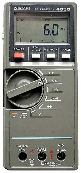 Soar 4050 Multimeter, 1986